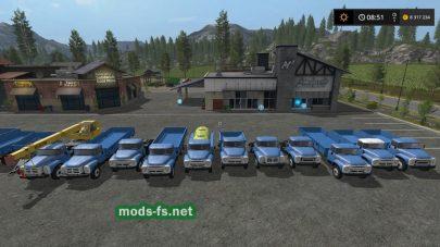Пак грузовиков ЗиЛ
