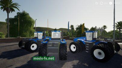 Мод трактора New Holland T9060