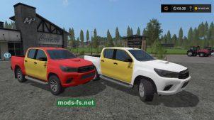 Toyota Hilux (MR) для Farming Simulator 2017