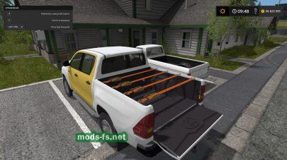 Скриншот мода Toyota Hilux