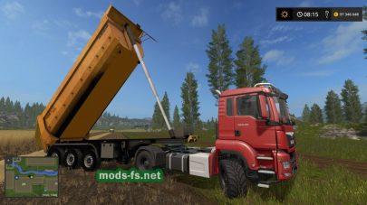 Прицеп TrailerHDR670 в игре FS 17