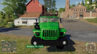 УРАЛ-4320 в игре Farming Simulator 2019