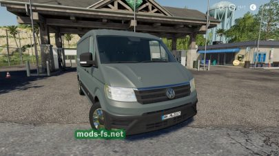 Мод на микроавтобус для FS 19