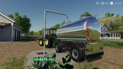 """Water Supply Station"" mod FS 19"