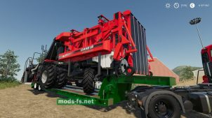 Wheels Low Deck Trailer для игры FS 19