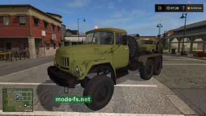 Скриншот мода «zil-131»