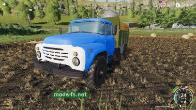 Мод на русский грузовик ЗИЛ-4502