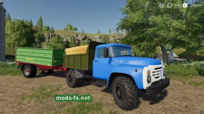 ЗИЛ-4502 в игре Farming Simulator 2019