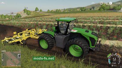 Мод на трактор ClaasXerion5000
