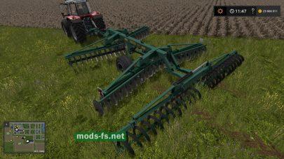 Дископак-6 для игры Farming Simulator 2017