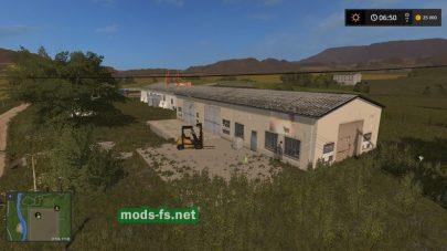 «KoloniaMapBeta» в игре Farming Simulator 2017