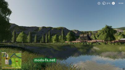 Озеро в игре FS 19
