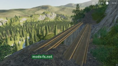 «Grizzly Mountain» map FS 19