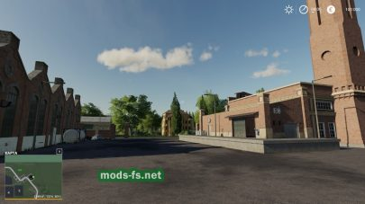 Мод новой локации для FS 19