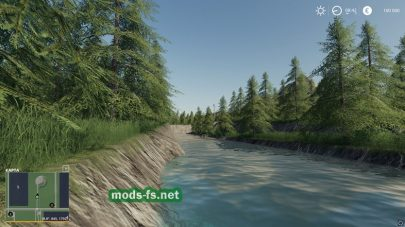 Река в игре FS 19