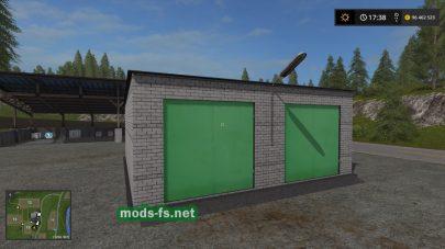 «Гаражи» для Farming Simulator 2017