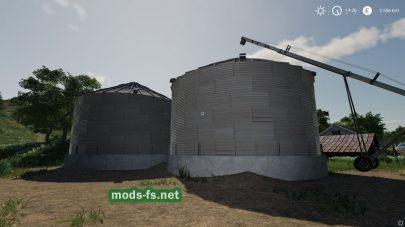 Бункер для хранения зерна в FS 19