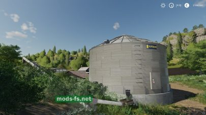 Скриншот мода «GrainSilo»