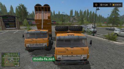 kamaz-43101 mod FS 17