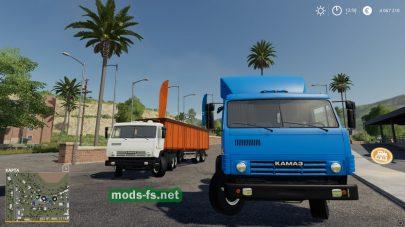 Скриншот мода kamaz-53212