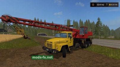 Скриншот мода «KRAZ-250 KS4561A»