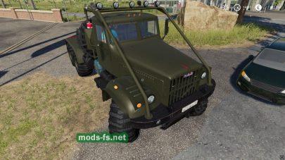 Мод тягача Краз-255Б