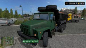 КрАЗ250 для Farming Simulator 2017