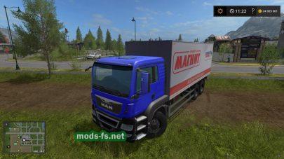 Мод грузовика MAN Магнит