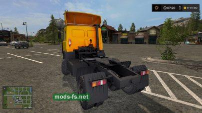 Скриншот мода «МАЗ-54326»