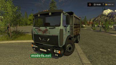 maz-5551 mod FS 17