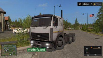 maz-6422 mod