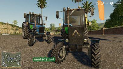 Трактор МТЗ-82.1 в игре FS 19