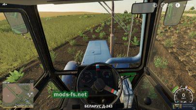 Реалистичный мод трактора МТЗ