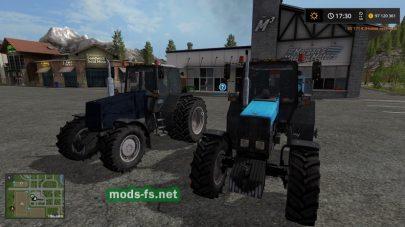 Мод на трактор МТЗ-1221