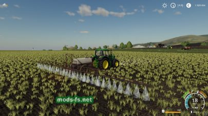 Мод на советский опрыскиватель для Farming Simulator 2019