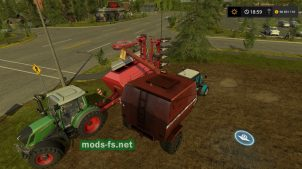 Палессе КЗР-10 для Farming Simulator 2017