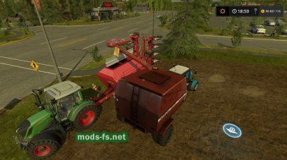 ПалессеКЗР-10 для Farming Simulator 2017