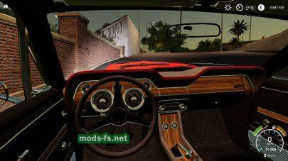 Автомобиль Mustang в игре FS 19