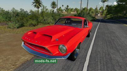 Скриншот мода Mustang V8 Flathead