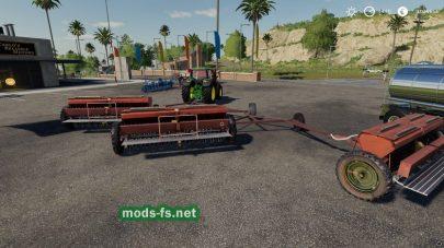 Сеялка СЗТ 3.6 для Farming Simulator 2019