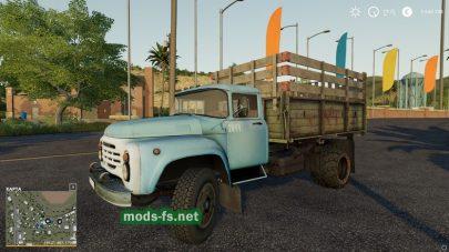 Модификация русского грузовика ЗиЛ-130