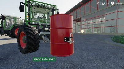 «Barrel Weight» mod