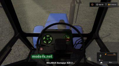 Мод трактора BELARUS 820.3