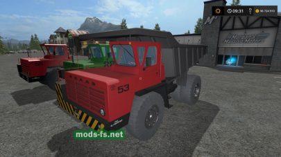 Пак грузовиков БелАЗ