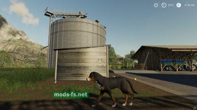Мод на будку для собаки в Farming Simulator 2019