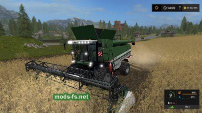 Fendt9460 R для Farming Simulator 2017