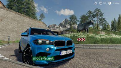 "Мод на автомобиль ""BMWX5M"""