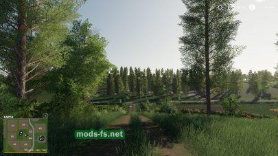Много полей в игре FS 19