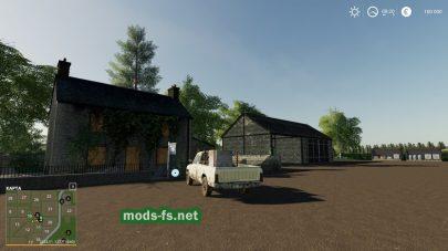 Карта где много полей в Farming Simulator 2019