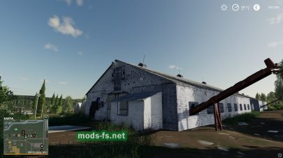 Старая ферма в игре Farming Simulator 2019
